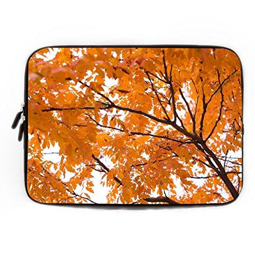 Laptop Sleeve,Universal Macbook Pro Case,Apple Toshiba SONY DELL HP Acer,Maple Leaf Latop Case,Resistant Neoprene Computer Sleeve,MacBook Pro-13'