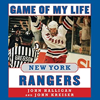 Game of My Life: New York Rangers cover art