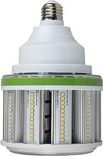54W Led Corn Bulb, DLC & UL-Listed, 7560Lm (200W MH/HPS Eq.) 5000K Daylight Mogul Base E39 LED Corn Light, Shorter Design for Garage Warehouse Indoor Outdoor Commercail Lighting