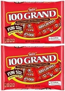 100 GRAND Fun Size 11 oz. Bag - Pack of 2