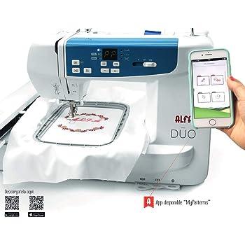 Máquina de bordar ALFA DUO con wifi: Amazon.es: Hogar