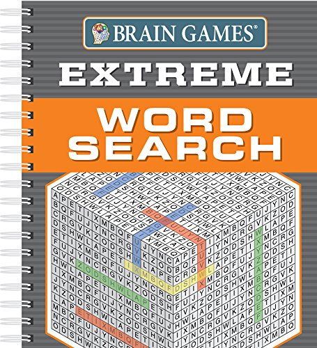 Brain Games - Extreme Word Search