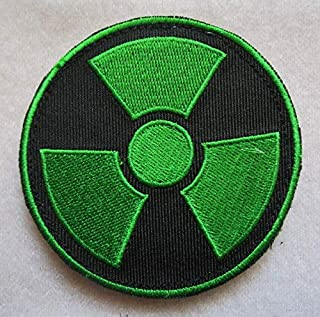 Marvel Comics Avenger Incredible Hulk Gamma Radiation 3D Tactical Military Badges Embroidered Patch Back with Loops and Hook