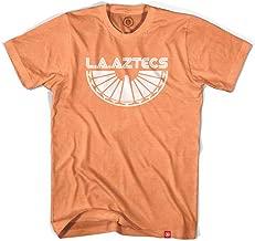 Los Angeles Aztecs T-shirt, Neon Heather Orange