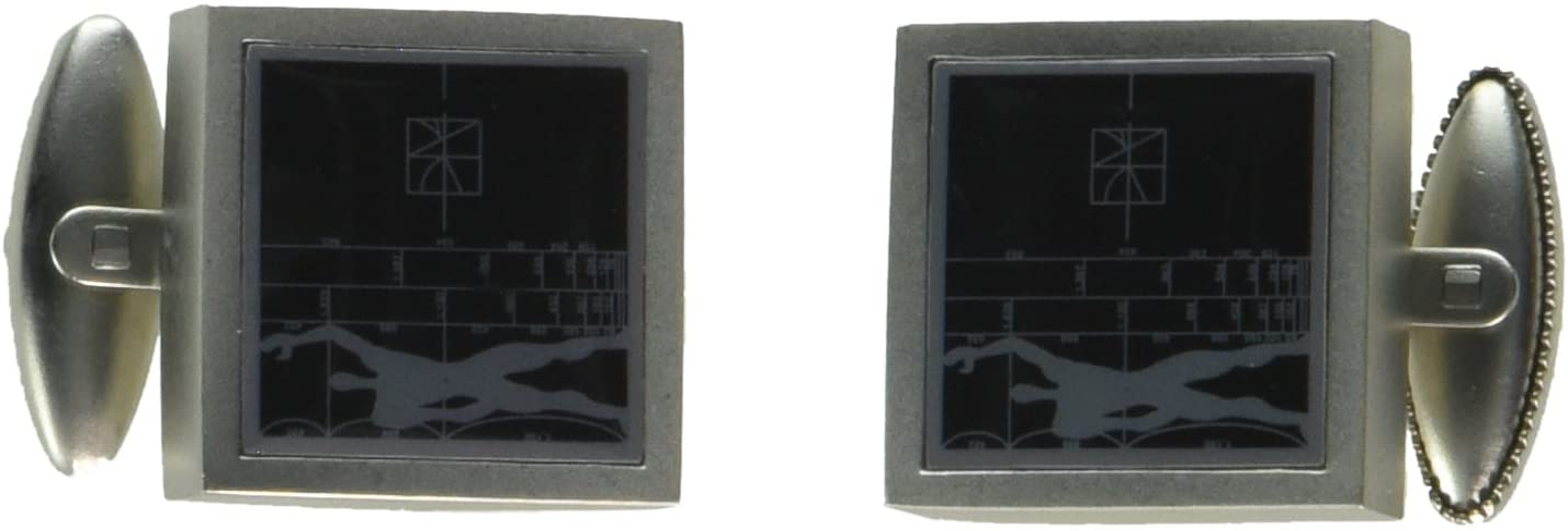 ACME Studios Le Modular/Figure Cufflinks by Le Corbusier (A1LC01C)