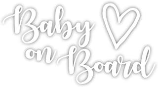 Cute Baby On Board Vinyl Decal Sticker 6