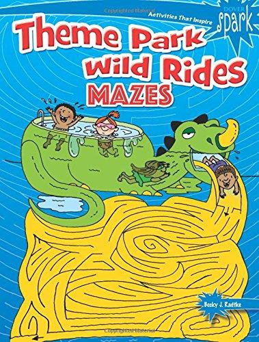Spark Theme Park Maze Craze (Dover Children's Activity Books) (Dover Spark)