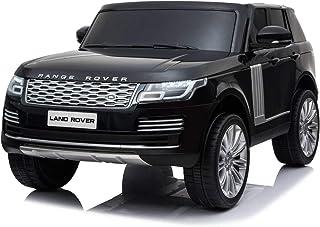 RIRICAR Range Rover Eléctrico, Negro, Asiento Doble De Cuer
