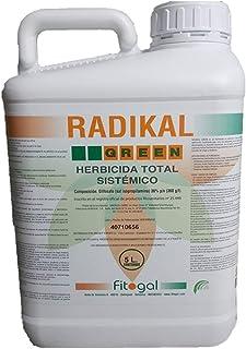 Fitogal Radikal Green Ultra Plus. Envase 5 L. Herbicida de acción total sistémico no Residual para el control de malezas. ...