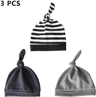 3 Pcs Winter Baby Hats Soft Warm Hat For Newborn Baby Autumn Wear