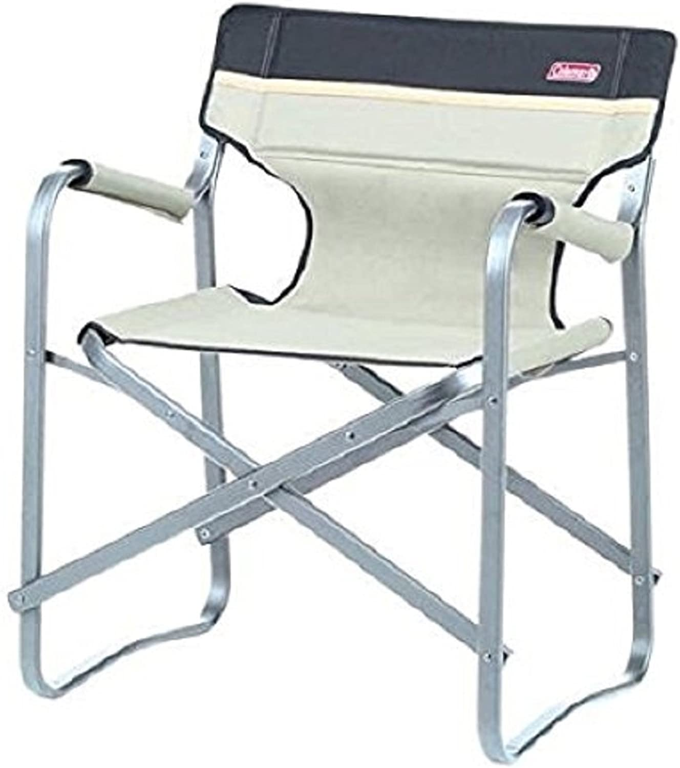COLEMAN FOLDING DECK CHAIR (KHAKI)