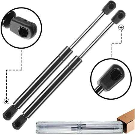 2 Qty Fits Audi A3 03 To 11 Hatchback Hatch 2-Door Lift Supports W//Spoiler Lift Supports Depot