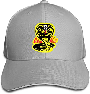 93faee3a Cobra-Kai-Denim-Dad Hip Hop Baseball Cap Golf Trucker Baseball Cap  Adjustable
