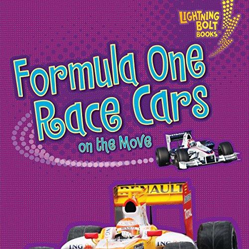 Formula One Race Cars on the Move copertina