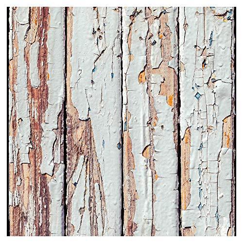 murando Tapete selbstklebend 10m Wandtattoo dekorative Möbelfolie Dekorfolie Fotofolie Panel Wandaufkleber Wandposter Wandsticker - Holz 1602-1