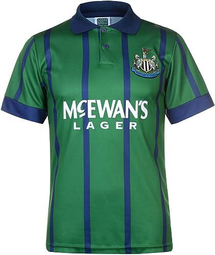 Maillot de Football Officiel Newcastle United 1993 Retro Third Jersey pour Homme Vert