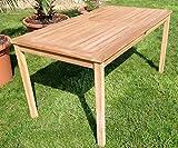 ECHT Teak Gartentische Holztisch Tisch in verschiedenen Größen - 8