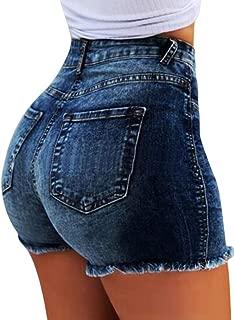 NUOVO Donna Casual Blu Al Ginocchio Stretch Pantaloncini da Sheego Taglia più 20 /& 28