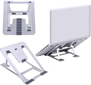 ノートパソコンスタンド 【2019最新改良】PCホルダー 折りたたみ式 六段高さ角度調整 ノートブック コンピューター用 持ち運び便利 9-15インチのタブレットとノートパソコンに適応