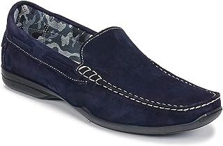 so size Elija Mocassini & Scarpe da Barca Uomini Marine Mocassini Shoes