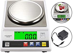 CGOLDENWALL High Precision Digital Accurate Analytical Electronic Balance Lab Scale Laboratory Weighing Balance Industrial Scale with Counting Function CE 14cm Large Weighing Pan 0.01g (2000g, 0.01g)