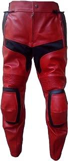 Classyak Men's Fashion DP Real Leather Motorbike Pant