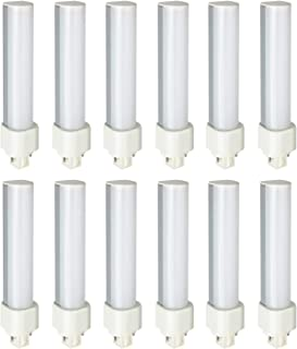 Sunlite 41385-SU LED PLD Ballast Bypass Light Bulb, 9 Watts (26W Equivalent), 2 Pin G24d Base, CFL Replacement, UL Listed, 12 Pack, 30K - Warm White