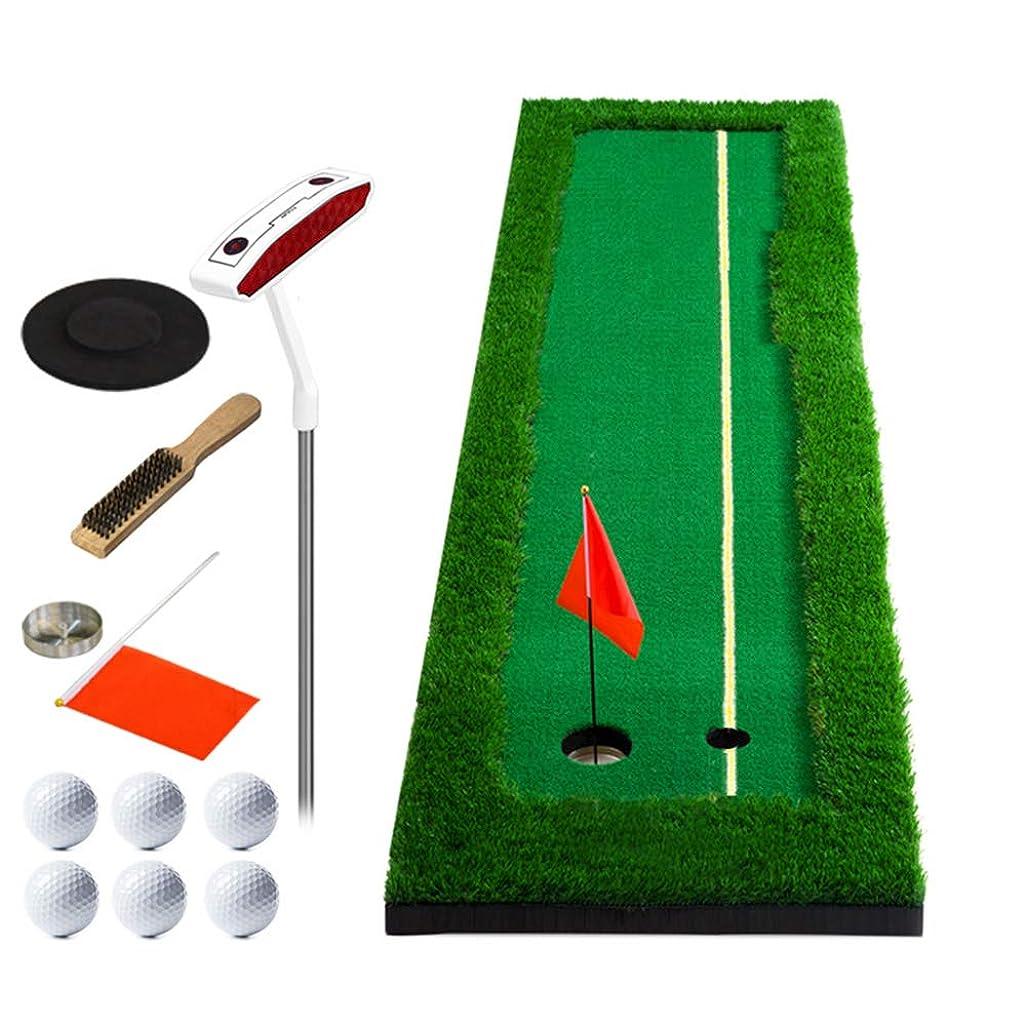 専門知識優先権試みパッティングマット ゴルフパター、10フィートポータブルアウトドアプロフェッショナルミニゴルフトレーナーグリーンパットグリーン&インドアトレーナーマット (サイズ さいず : 300cm×50cm)