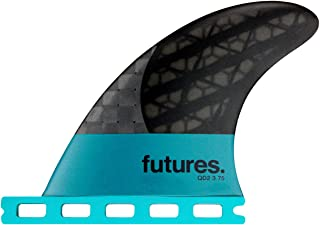 Futures Fins - QD2 3.75 Blackstix 3.0 Quad Rear Fin Pair