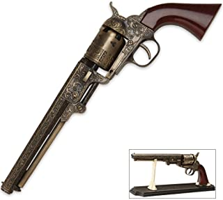 K EXCLUSIVE Outlaw Revolver Replica with Stand