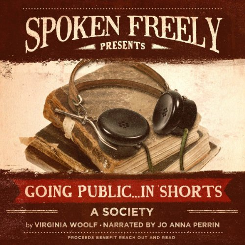 A Society audiobook cover art