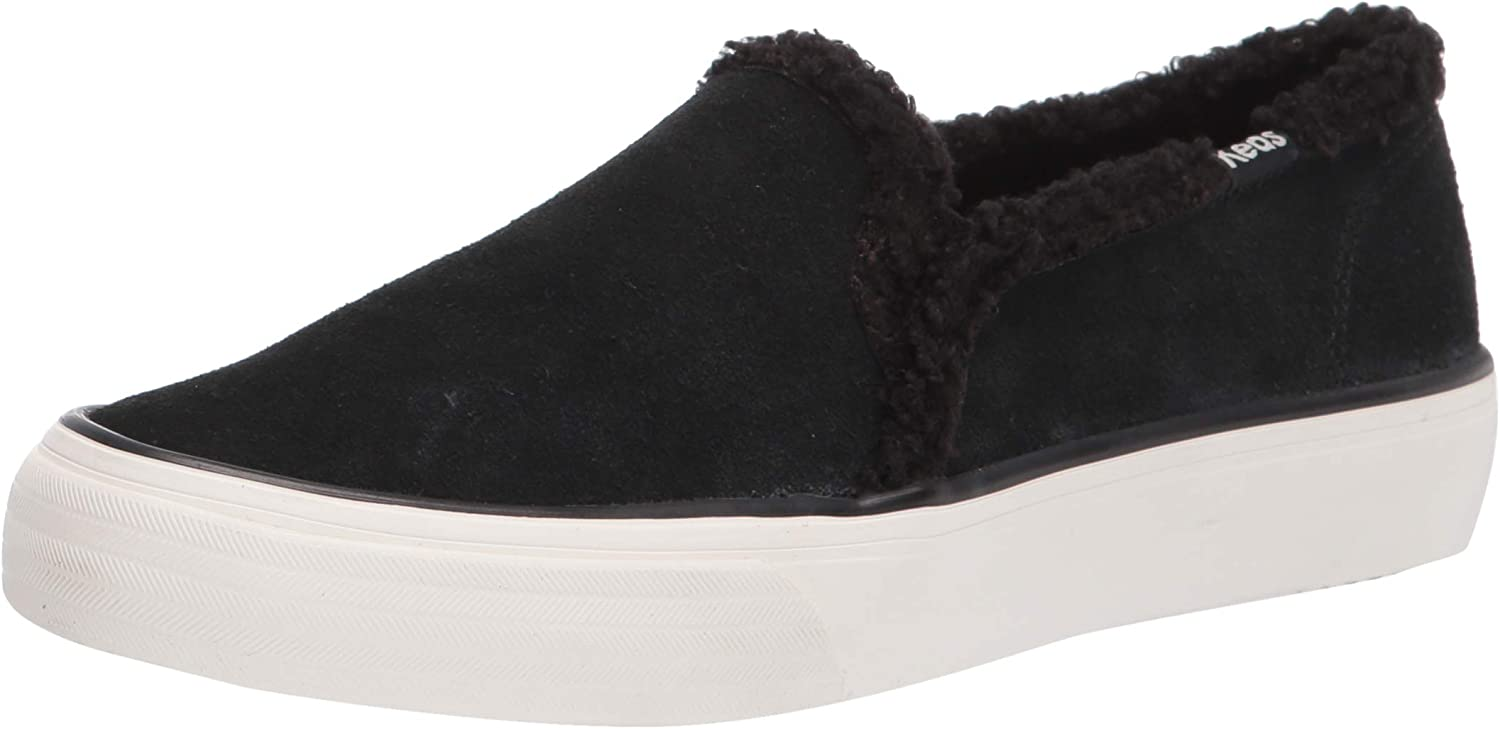 Keds Women's Double Direct sale Choice of manufacturer Decker Suede Shearling Sneaker