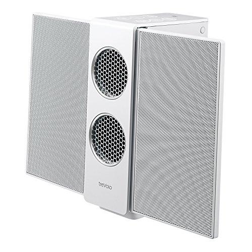 BenQ treVolo S - Altavoz eléctrico inalámbrico Bluetooth (modo 3D, NFC, USB DAC, 18 h), color blanco