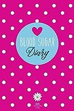 Blood Sugar Diary: Diabetes Journal for 53 Weeks (Pink)