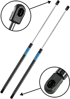 Dayincar 2pcs 4249 Rear Window Glass Lift Support Struts Gas Springs Shocks With Hardtop for 1997-2006 Jeep Wrangler
