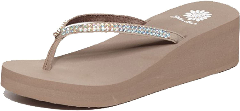 Yellow Box Women's Custard Sandal, Rich Taupe, 11