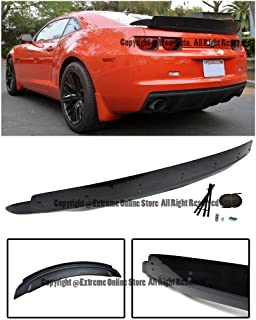 Extreme Online Store EOS Body Kit Rear Wing Spoiler Trunk Wicker Bill - for Chevrolet Chevy Camaro 10-13 2010 2011 2012 2013 ZL1 Style
