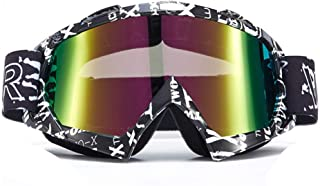MINIKATA Ski Goggles, Snowboard Goggles UV Protection, Snow Goggles Helmet Compatible for Men Women Boys Girls Kids, Anti Fog OTG