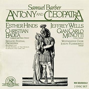 Samuel Barber: Antony and Cleopatra