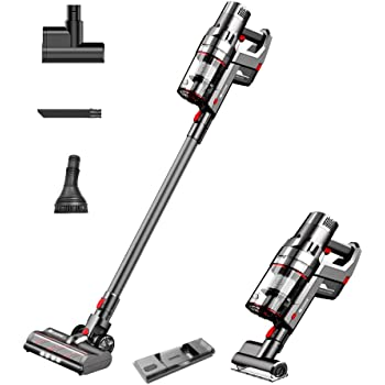 Proscenic P11 Cordless Vacuum Cleaner, Stick Handheld Vacuum with Mop, 25000pa Powerful Motore Touch Screen, Removable Battery, 3 Adjustable Suction Modes for Hard Floor/Carpet/Pet Hair/Floor Washing