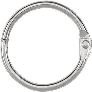 ACCO Loose Leaf Binder Rings, 1 Inch Capacity, Silver, 100 Rings / Box (72202)