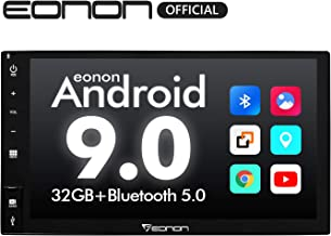 Car Stereo,Double Din Car Stereo Eonon Android 9.0 Car Radio, 7 Inch 32GB ROM Car GPS Navigation Head Unit, Support Android auto, Carplay, Fastboot Bluetooth, WiFi Connection (NO DVD/CD)- GA2177