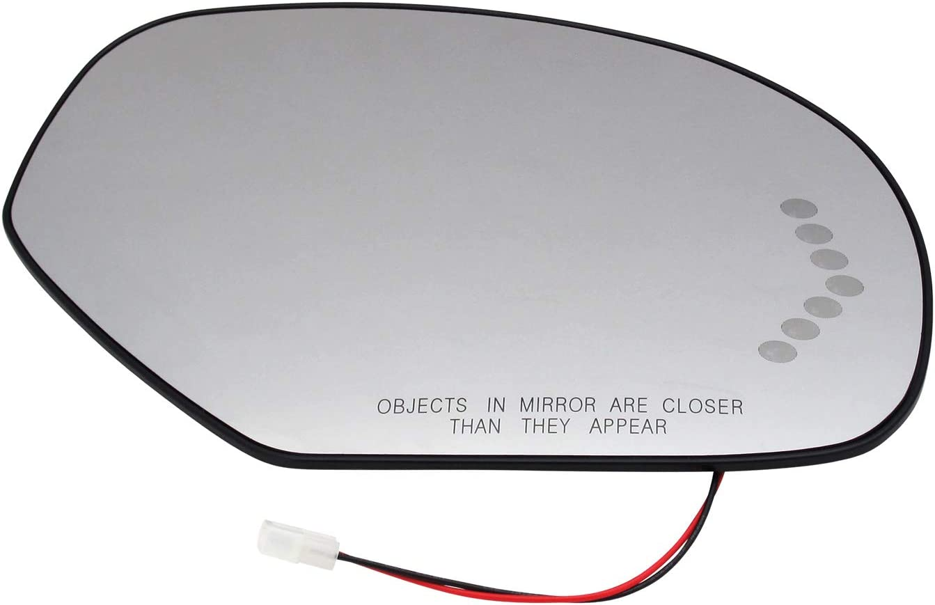 Passenger Side Mirror Glass Assembly Turn Plate Plastic Raleigh Mall Sig Back Same day shipping