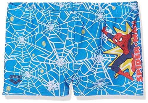 Arena 2507201, Bañador Para Bebés, Azul (Spider Man Marvel), 98 (Talla del Fabricante: 2)