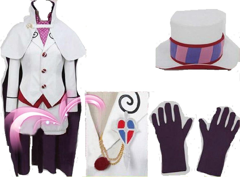Ao no bluee Exorcist Mephisto Pheles cosplay costume + free wig