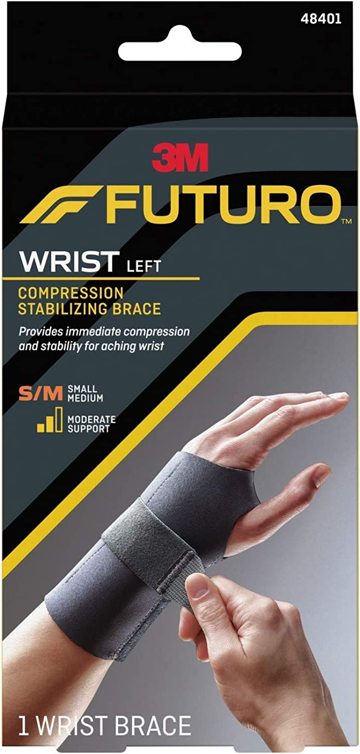 Futuro Energizing Wrist Support Left Hand, Small Medium  1 Each (Pack of 4)