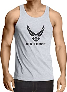 lepni.me Men's Tank Top United States Air Force (USAF) - U. S. Army, USA Armed Forces