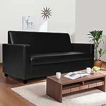 Furny Dublin Three Seater Sofa (Black)