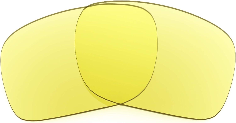 Revant Verres de Rechange pour Oakley Holbrook Mix - Compatibles avec les Lunettes de Soleil Oakley Holbrook Mix Jaune Traceur - Non Polarisés