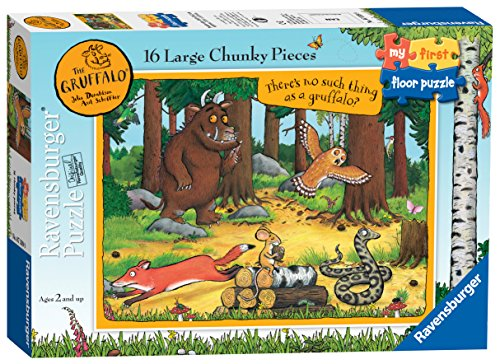 Ravensburger My First Floor Puzzle - The Gruffalo 16 Piece Jigsaw Puzzles for Toddlers Age 24 Months and Up